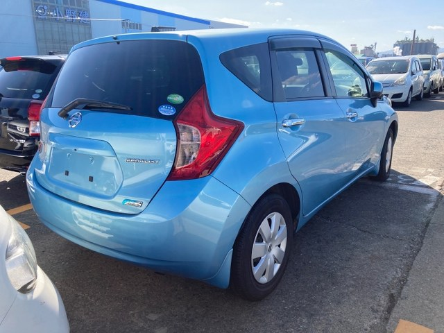 NISSAN NOTE 2014 ref: CCC13132010 (003)