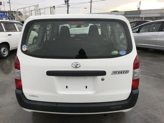 TOYOTA SUCCEED 2015 ref: CCK0332101 (006)